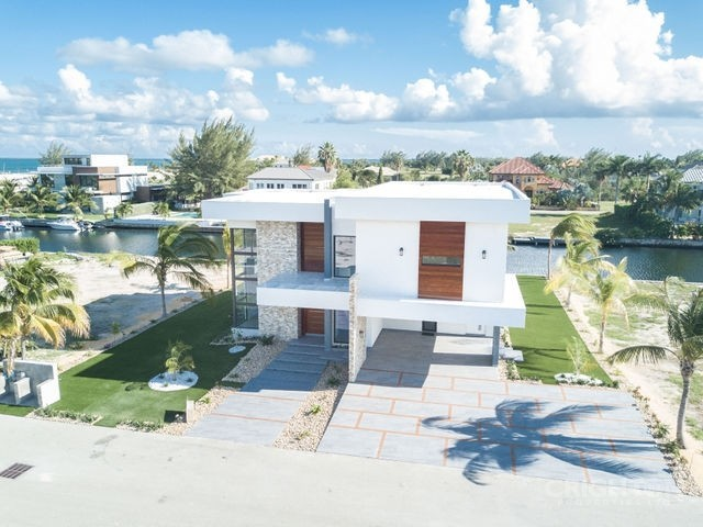 Crystal Harbour Canal Front Home - New Construction - Image 1