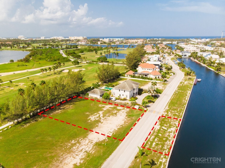 Crystal Harbour Canal / Golf Course Lot - Image 1